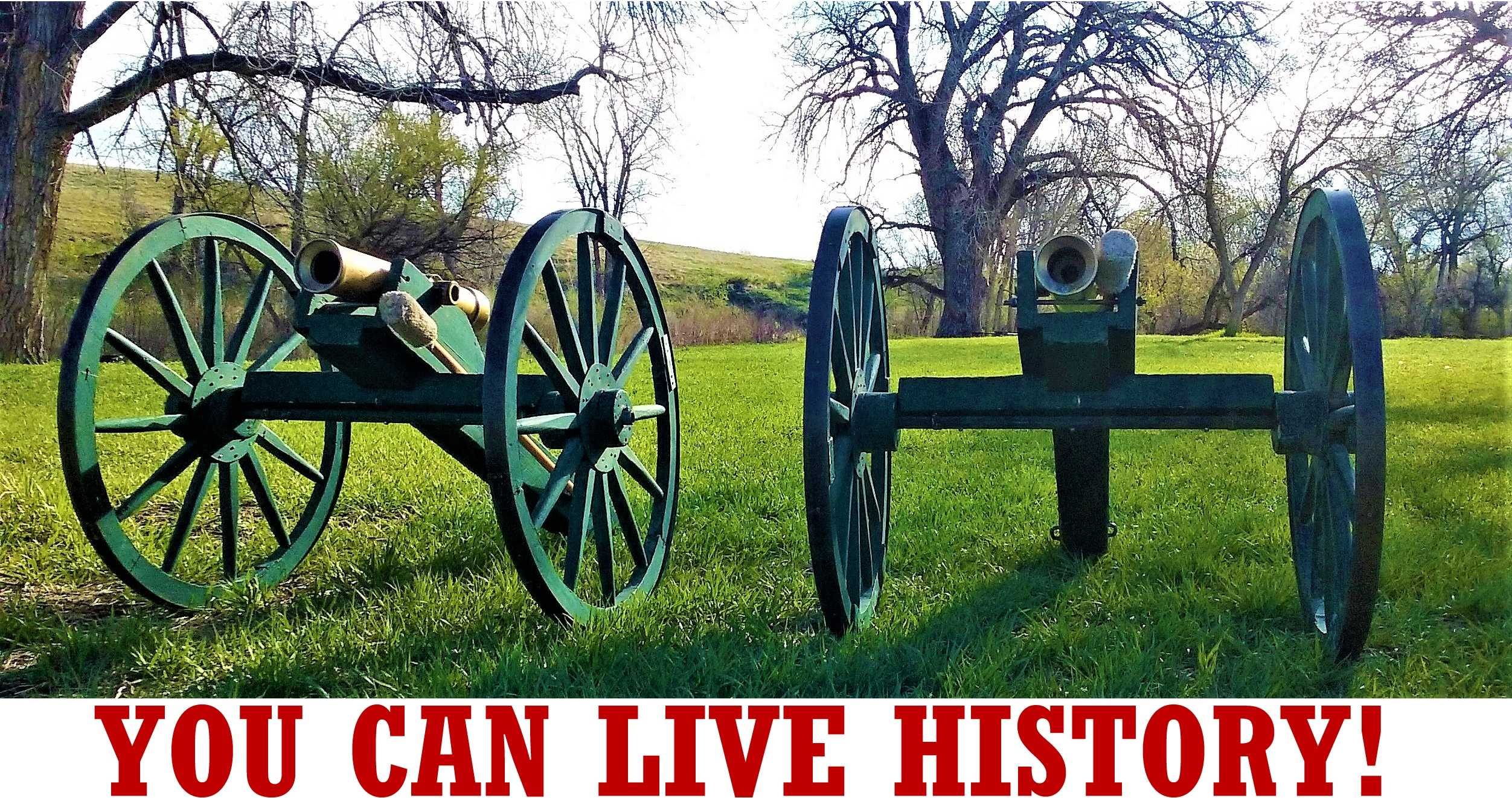 You Can Live History, You now have the opportunity to experience American history in a personal way!